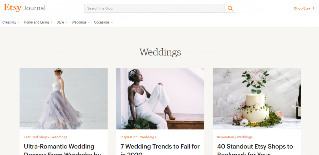 etsy weddings