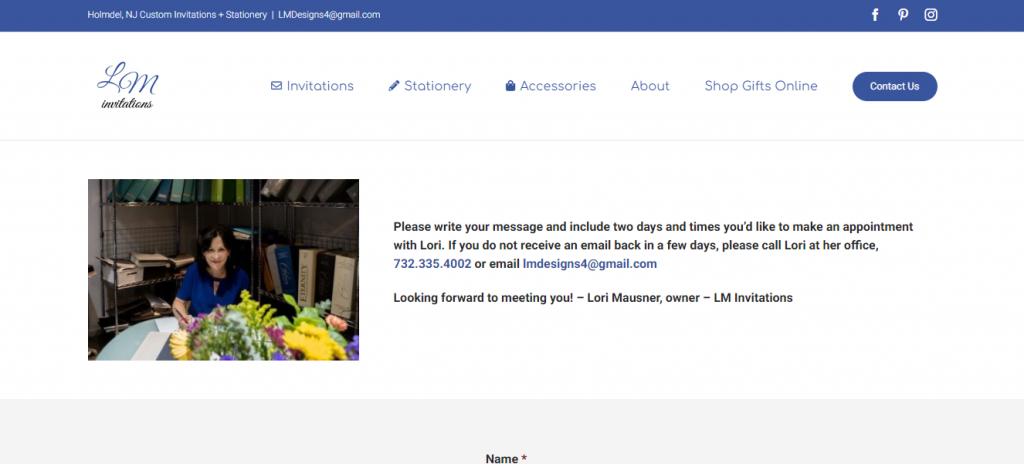 lm invitations