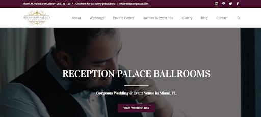 reception palace ballrooms