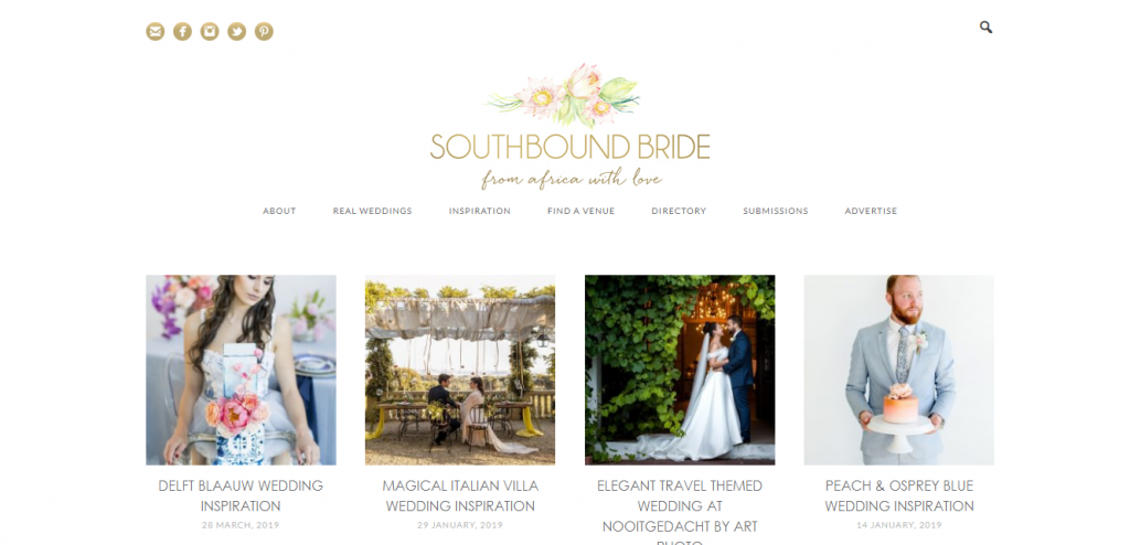 south bound bride