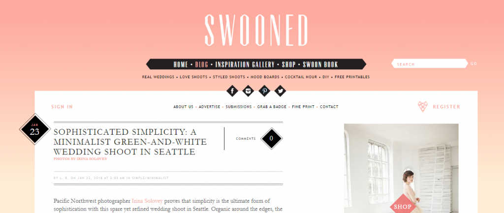 swooned mag
